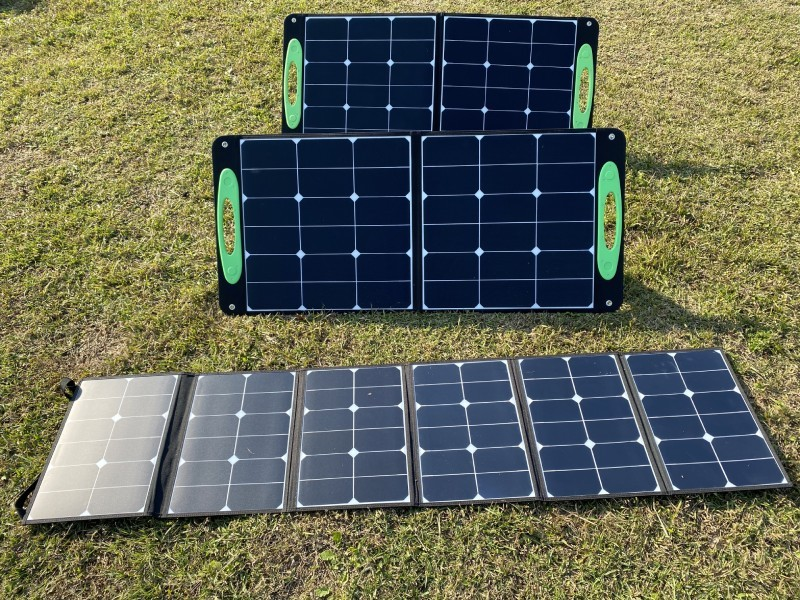 100W Foldable Panel
